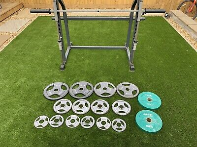 Marcy Smith Machine ,bench And 100kg Of Olympic Weights • 595£