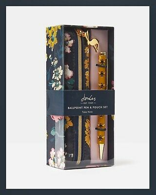 JOULES Home - Snazzy Pen + Pouch Gift Set - HONEY BEE - Bnwt / Sealed / Last One • 15.99£