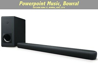 AU526 • Buy Yamaha YAS209B SOUNDBAR DTS Virtual X 3D Surround Sound W/Wireless Sub