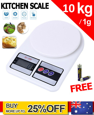 AU11.50 • Buy 5kg/1g Digital LCD Electronic Kitchen Scale Food Weighing Postal