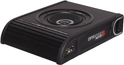 Vibe Optisound 8 Underseat Active 900w Car Van 8  Subwoofer Built In Amplifier • 119£