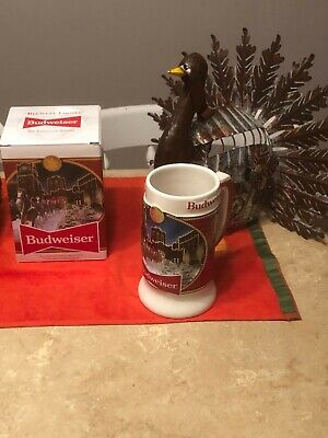 $ CDN21.73 • Buy 2020 Budweiser Holiday Stein Beer Mug From Annual Christmas Series BRAND NEW!!