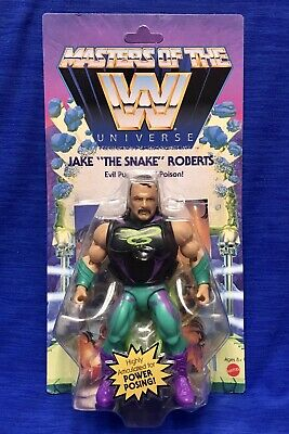 $34.99 • Buy Masters Of The WWE Universe: Jake The Snake Roberts - Wave 4