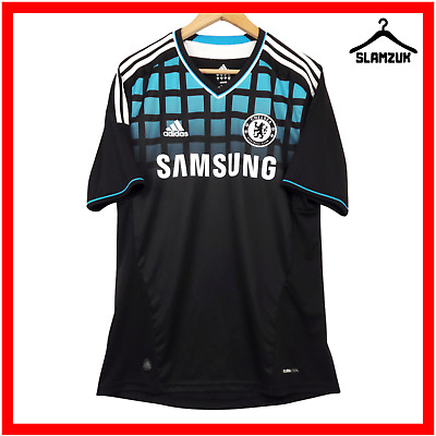 Chelsea Football Shirt Adidas M Medium Away Soccer Jersey London 2011 2012 6G • 39.99£