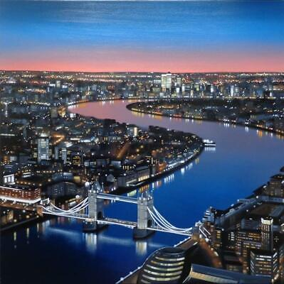 Neil Dawson - View From The Shard (Original Framed) - In Stock  • 1,995£