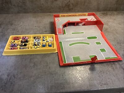 Micro Machines Fire Control/ Emergency Centre With Cars • 10.55£