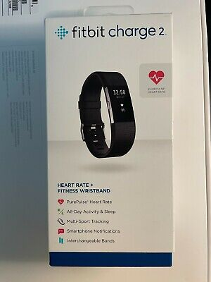 $ CDN21.28 • Buy Fitbit Charge 2 Wristband Activity Tracker, Small - Black