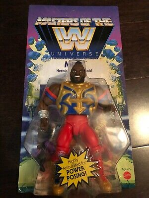$20 • Buy MOTU - Masters Of The WWE Universe Mr. T Action Figure (Wave 4)
