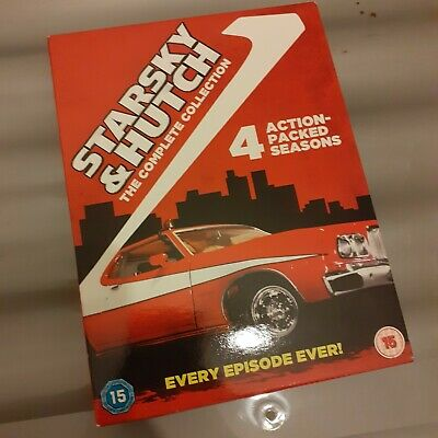 Starsky And Hutch - Series 1-4 - Complete (DVD, 2006, 20-Disc Set, Box Set) • 10£