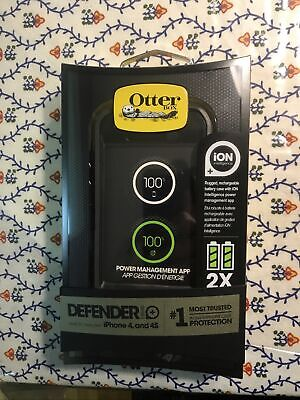 Genuine OtterBox Defender ION Battery Case For Apple IPhone 4 & 4S, 77-25819 • 12.87£
