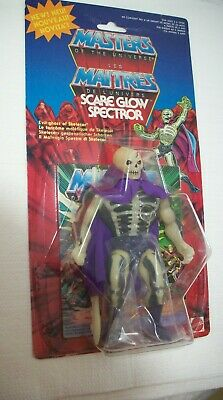 $790.96 • Buy Scare Glow Spectror 1986 Mattel Motu Evil Ghost Of Skeletor Carded Figure
