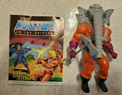 $20.50 • Buy Vintage Masters Of The Universe Snout Spout Complete With Mini-comic