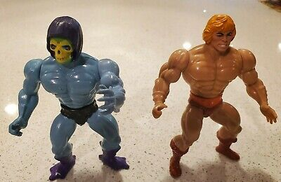$22.50 • Buy Vintage Masters Of The Universe He-Man And Skeletor Incomplete