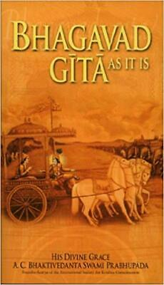 AU17.99 • Buy Bhagavad-Gita: As It Is By A.C. Bhaktivedanta Swami Prabhupada Paperback NEW AUS