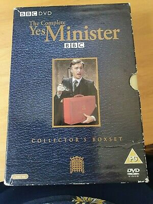 THE COMPLETE YES MINISTER COLLECTOR'S BOX SET 4-Disc DVD 2004 • 6£