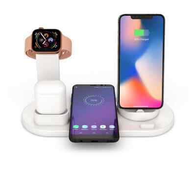AU28.99 • Buy 4in1 Wireless Charger Dock/Station/Stand For Apple Watch IPhone 12/11 Pro Airpod
