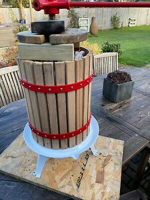 12 Litres Apple /fruit Press Only Used This Season October • 30£