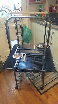 Large Parrot Play Stand • 20£