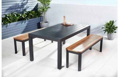 AU500 • Buy Aura Jette 3 Piece Bench Outdoor Dining Setting