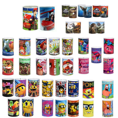 Kids Money Boxes Boys Girls PawPatrol,Avenger,Disney Princes Money Tin Xmas Gift • 4.99£
