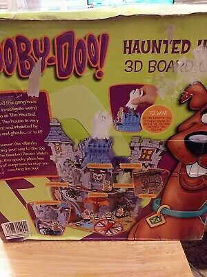 Scooby Doo Haunted House 3d Board Game 2006 Seven Towns **missing Pieces** • 6.10£