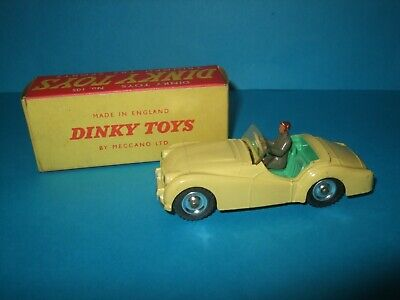Dinky Toys 1950s Boxed Triumph Tr2  Model Car • 51.02£