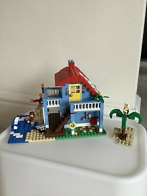 LEGO Creator Seaside House (7346) 100% Complete With Instructions • 10£