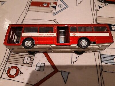 DINKY 283 Single Decker Bus Red Arrow. Boxed. Good Condition. • 35£