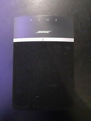 Bose Soundtouch 10 Wireless Black Speaker With Remote • 53£