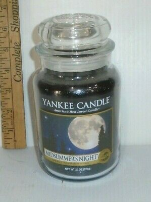Brand New Yankee Candle 22oz - Midsummers Night • 25.98£