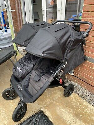 Baby Jogger City Mini GT Black/Black All Terrain/3-Wheelers Single Seat Stroller • 170£