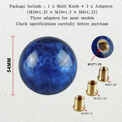 AU22 • Buy Universal Manual 6 Speed Car Gear Stick Shift Knob Shifter Round Ball