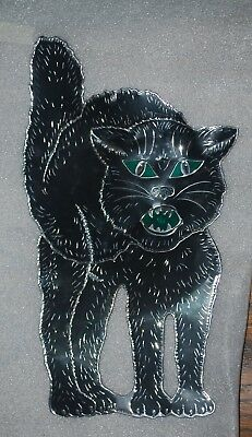 $ CDN64.86 • Buy Old Vintage Halloween Tin Diecut Die Cut Out Beistle Cat 1920s/1930s/1940s/1950s