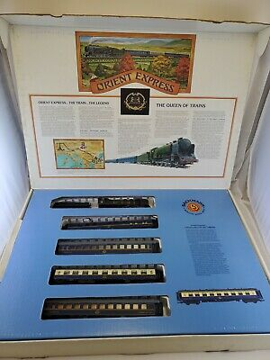 $ CDN194.57 • Buy Bachmann Orient Express Ho Scale Electric Train Set 40-0185 UNTESTED Insert DMG