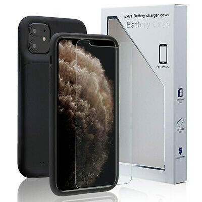AU52.99 • Buy Portable Power Bank Pack Battery Charger Case Cover For IPhone 12 11Pro Max Mini