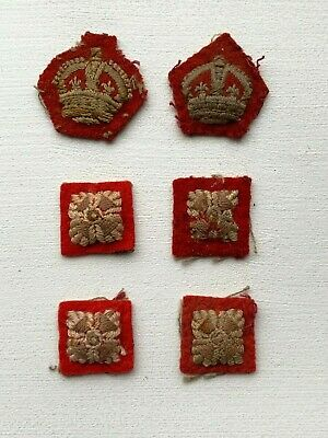 Ww2 British Army Officers Rank Crown & Pips • 4.95£