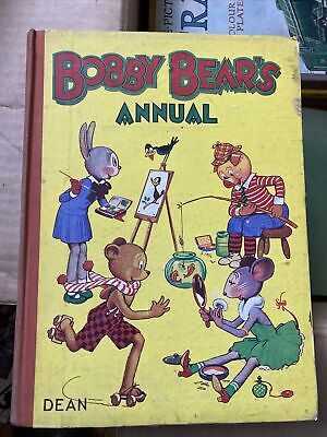 Vintage Collectable Childrens' Annual Hardback Bobby Bear's Annual • 1.99£