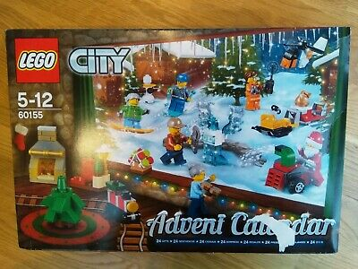 Lego City 60155 Advent Calendar Classic For Christmas @home Used And Complete! • 12.86£