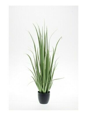 Artificial Yucca Grass Green Indoor Plant Fauliage Potted - DAMAGED • 32.99£