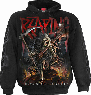 £23.95 • Buy Reaping Tour Mens Hoody Black | Horror | Reaper | UnDead | Metal | Spiral Direct