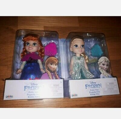 Disney Frozen Petite Anna & Elsa Toddler Dolls, New In Boxes. Come Play With Me. • 23.99£