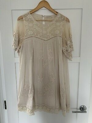 AU179 • Buy Spell Maggie Lace Tunic - Size XL - Great Condition