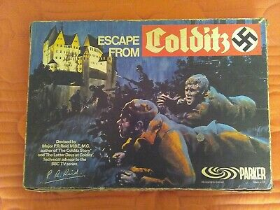 Vintage Mid 1970's Parker Games 'Escape From Colditz' • 25£