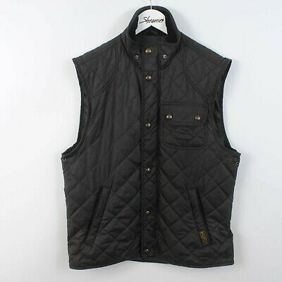 Polo Ralph Lauren Quilted Gilet Body Warmer Vest Jacket Size M Medium • 39.99£