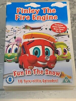 FREE POST Classic Kids DVD Animation Cartoon Tv Finley The Fire Engine • 7£
