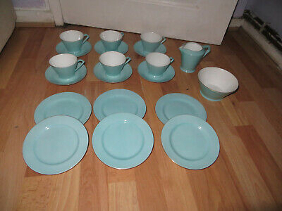 Noritake Tea Set, Egg Shell Blue, Art Deco Tea Set, A Nice Design • 22.99£
