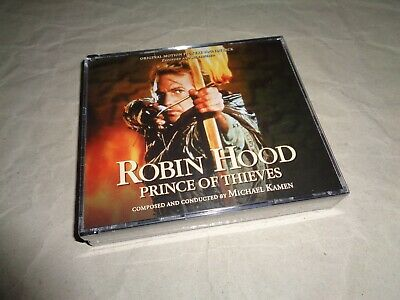 ROBIN HOOD PRINCE OF THIEVES EXPANDED SOUNDTRACK 4 Cd NEW FACTORY SEALED • 84.99£