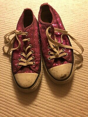 Converse Sequin Pink 5 • 5£