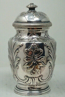 Antique Victorian Silver Plated Pepper Mill • 6£