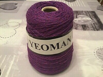 YEOMAN YARNS 500g MACHINE KNITTING CONE BRAND NEW • 8.50£